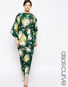 Shop ASOS CURVE Maxi Dress in Floral. With a variety of delivery, payment and return options available, shopping with ASOS is easy and secure. Shop with ASOS today. Modest Clothing, Plus Size Womens Clothing, Modest Outfits, Plus Size Fashion, Clothes For Women, 70s Fashion, Modest Fashion, Fashion Dresses, Fashion Online