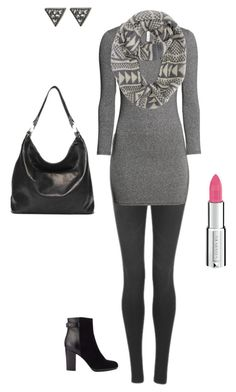 """monochromatic JG"" by grahamju ❤ liked on Polyvore featuring Cheap Monday, H&M, ADORNIA, Jigsaw, Givenchy and Ellington"
