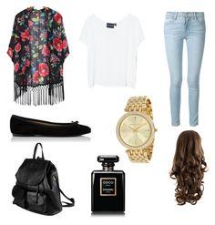 """Kimono outfit"" by sadiecoda ❤ liked on Polyvore"