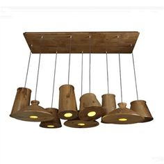 804.60$  Watch here - http://alirb5.worldwells.pw/go.php?t=2014638304 - 9 Heads Modern Wood Light Minimalist Bedroom Living Room Dining Room Lamp Personalized Creative Wooden Chandelier Lighting