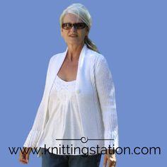 Knitting Pattern Knitting Patterns, Cardigans, Mens Tops, T Shirt, Fashion, Knitting Stitches, Supreme T Shirt, Knit Patterns, Tee