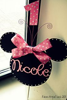 Minnie Mouse Decor Idea COLGANTE