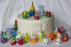 Fondant Shopkin Cake topper-Shopkin birthday edible decoration Are you a shopkinoholic! Well youve c Shopkins Cake Toppers, Cupcake Toppers, 2nd Birthday Party Themes, Birthday Cakes, Birthday Ideas, Birthday Parties, Turtle Birthday, 11th Birthday, Rolling Fondant