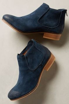 House of Harlow Blaire Booties Navy Boots #anthrofave