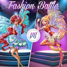 Fashion battle Butterflix Aisha Vs Sirenix Stella