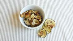 Receita de Chips de berinjela no forno - Fácil