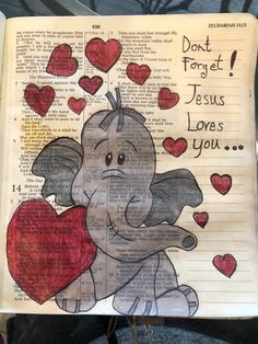 Don't forget, Jesus loves you. #BibleJournaling