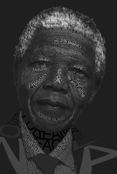 "Nelson Mandela: ""No one is born hating another person because of the color of his skin, or his background, or his religion. People must learn to hate, and if they can learn to hate, they can be taught to love, for love comes more naturally to the human heart than its opposite."" #typography #rip"