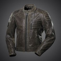 New jacket by 4SR is simply COOL! 4SR Cool Jacket has simple but remarkable design. This quilted jacket with subtle logo and stylish shoulder & elbow patches was made from premium, soft buffalo leather.