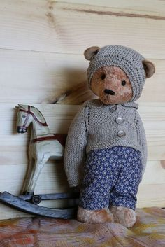 OOAK Teddy bear vintage name Semyon #AllOccasion
