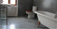 Poate ca va doriti renovare sau amenajare?  ...renovarea bailor cu microciment ( se aplica direct peste gresia existenta, durata execuție 4 zile)  ...renovarea pardoselii acoperită cu gresie, nu mai este necesară demontarea ei și aplicarea sapei ulterioare.   #microciment Clawfoot Bathtub, Bathroom, Modern, Washroom, Trendy Tree, Full Bath, Bath, Bathrooms