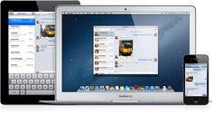 iMessage en todos lados, inicia una conversación en tu Mac y síguela en tu iPhone, iPad o iPod touch.