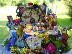Alice im Wunderland-Herzstück, Wonderland Herzstück, verrückten Teegesellschaft Decor, Wunderland Partei Wunderland Geburtstag, Wunderland Hochzeit
