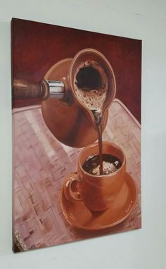 #şivecollection#oilpainting#handmade#coffe#turkishcoffe#canvas#
