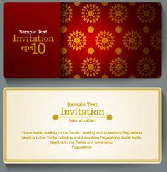ornate invitation cards