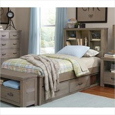 NE Kids Highlands Twin Bookcase Bed - 10060 - On Sale Now! | The Simple Stores