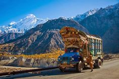 Truck in Chitral, Pakistan