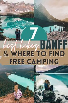 Use our Banff itinerary for the best Banff hikes Alberta Canada, Banff Canada, Banff National Park, National Parks, National Forest, America And Canada, North America, Visit Canada, Canada Trip