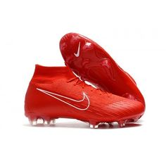34faf92fb Our online shop offers Cheapest Nike Mercurial Superfly VI 360 Elite FG  Football Boots - Red White Australia at big discounts. Get mens football  boots hot ...
