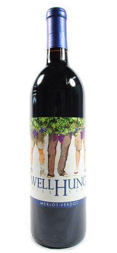 Well Hung Vineyard — 2010 well hung vineyard virginia wine merlot verdot monticello LoL