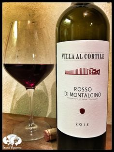 Score 89/100 Wine review, tasting notes, rating of Villa Al Cortille Rosso di Montalcino, Tuscany. Description of aroma, palate, flavor. Join the experience.