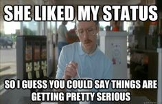 She Liked My Status