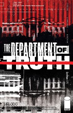 """The Department of Truth is a reading experience unlike any other."" James reviews The Department of Truth #5 from Image Comics. Comic Book Covers, Comic Books Art, Planet Of The Dead, Black Cat Comics, Kami Garcia, Mark Bagley, Storm King, Comics For Sale, Sailor Moon Cosplay"