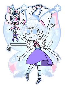 Art: CometNightGirl4 Astrid Polaris: Me. Star VS The Forces of Evil: Daron Necfy. Mewberty made by my dear friend: Astrid has a very variable Mewberty from the first becoming completely unstable. W...