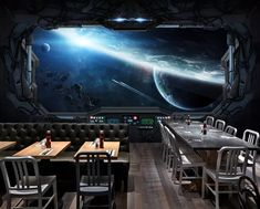Beleuchtungsideen Should I Buy My Teen A Vehicle? Well, that depends if you're ready for your teen t Cartoon Spaceship, Spaceship Art, Spaceship Design, Spaceship Concept, Spaceship Interior, Futuristic Interior, Futuristic Art, Cheap Wallpaper, Paper Wallpaper