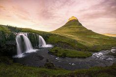 冰岛 Iceland - 草帽山瀑布 Kirkjufell  by BoldYoung - Photo 223365307 / 500px