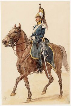 Dragonder van het 1e Regiment Dragonders