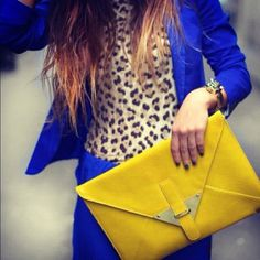 That clutch is bangin!!!!!  hello yellow!.