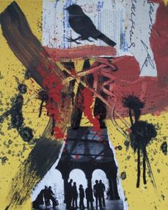 """Saatchi Art Artist Misha Dontsov; Painting, """"Letters from New York"""" #art"""
