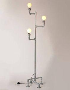 Luminária de piso Metal LUP02