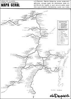 vidaDmaquinista: O mapa completo de nossa ferrovia RVPSC.