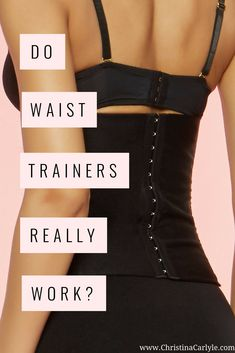 Do Waist Trainers Work? Find out if wearing a waist trainer can really help you get a smaller waist or if waist trainers are really just a waste of money. Diy Waist Trainer, Do Waist Trainers Work, Pilates Plus, Waist Trainer Before And After, Tiny Waist Workout, Oblique Workout, Fat Workout, Body Workouts, Waist Training Cincher