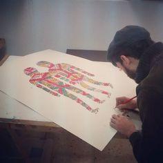 Hoy #JanBarcelo inaugura exposición en Carrer Topazi 14 a partir de las 20:00!! Habrá Live Painting! #gracia #barcelona #fontana #instagood #igersbarceloma #freebeer #art #instaart #instadaily #bcn #bcnart