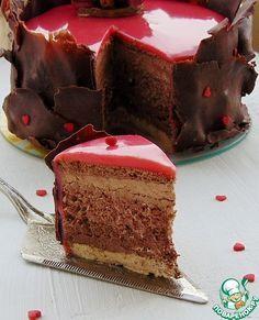 """Торт """"Кофе и шоколад"""" - кулинарный рецепт"""