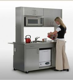 1000 Images About Mobile Kitchen On Pinterest Mobiles Compact Kitchen And Kitchens