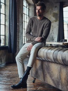 Collezione Uomo AI 2020/2021 - Ferrante - Industria maglieria Leather Pants, Fall Winter, Menswear, Photoshoot, Fictional Characters, Collections, Wallpaper, Fashion, Shots Ideas
