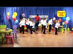 Playlist of preschool appropriate songs to dance to do - great for my music unit!