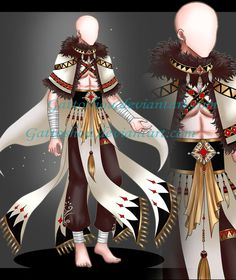 : Custom Outfit Commission by GattoAdopts on DeviantArt Clothing Sketches, Fashion Sketches, Drawing Fashion, Anime Outfits, Boy Outfits, Cute Outfits, Anime Girl Dress, Fashion Templates, Drawing Clothes