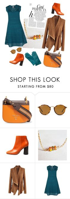"""What a colors! "" by eugeniya-stakheeva on Polyvore featuring Prada, Ray-Ban, Chicwish, Whiteley, Tory Burch and M Missoni"