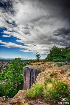 """Every heart sings a song, incomplete, until another heart whispers back. Those who wish to sing always find a song. At the touch of a lover, everyone becomes a poet."" ― Plato    Approaching storm in the Jemez Mountains, New Mexico"