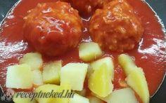 Paradicsomos húsgombóc recept fotóval Fruit Salad, Cooking, Food, Traditional, Kitchen, Fruit Salads, Essen, Meals, Yemek