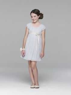 tween teen kid fashion model Ava Allan for US Angels Blush