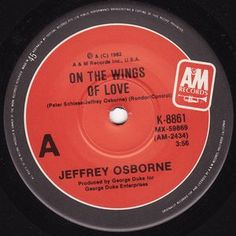 Jeffrey Osborne - On The Wings Of Love (Vinyl) at Discogs
