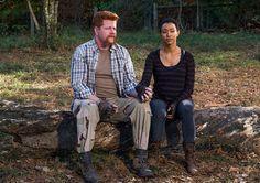 The Walking Dead Season 7 Episodic Photos - Abraham Ford (Michael Cudlitz) and Sasha (Sonequa Martin-Green) in Episode 16 Photo by Gene Page/AMC