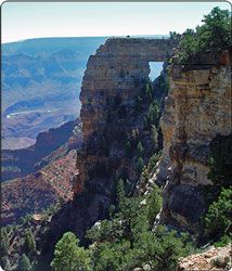 Angel's Window at the North Rim of the Grand Canyon