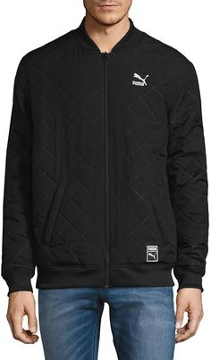 5d241a05e5bd Puma Men s Reversable Bomber Jacket - Black